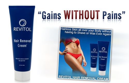 Revitol Hair Removal Cream A Proven Formula To Stop Unwanted Hair